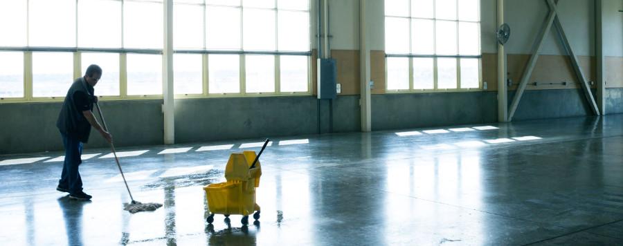 Sprzątanie hal magazynowych i produkcyjnych